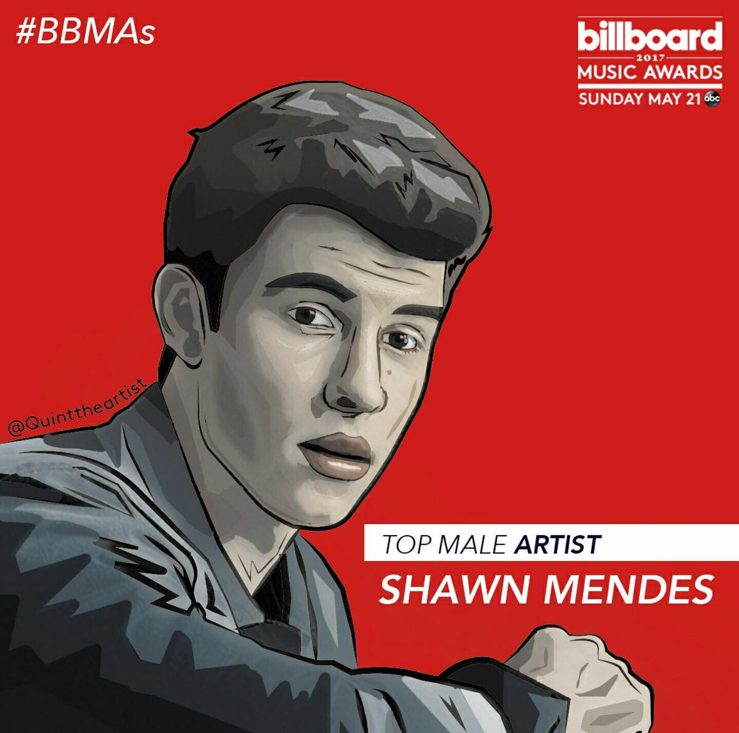 Shawn Mendes top male artist
