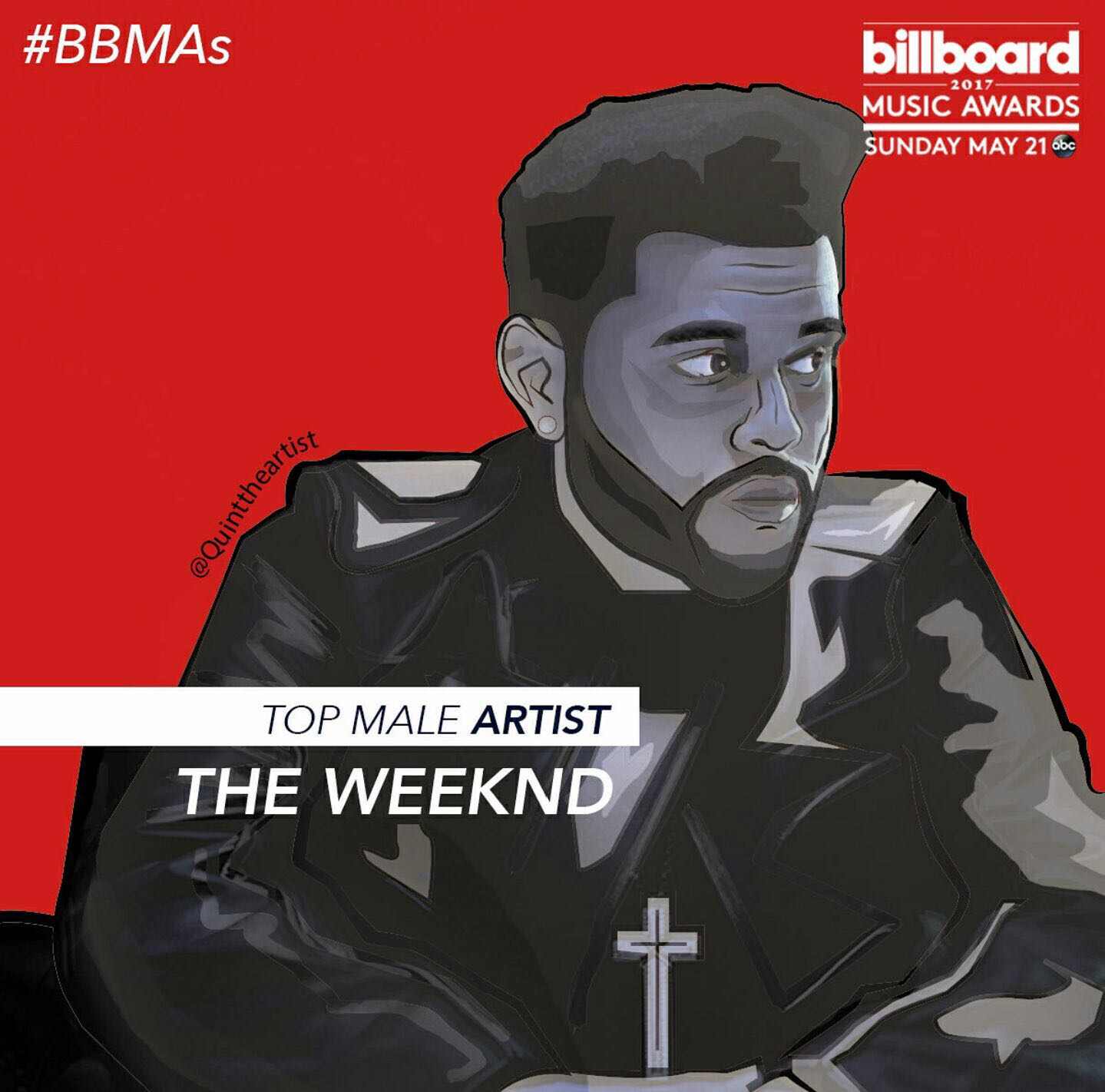the weeknd top male artist